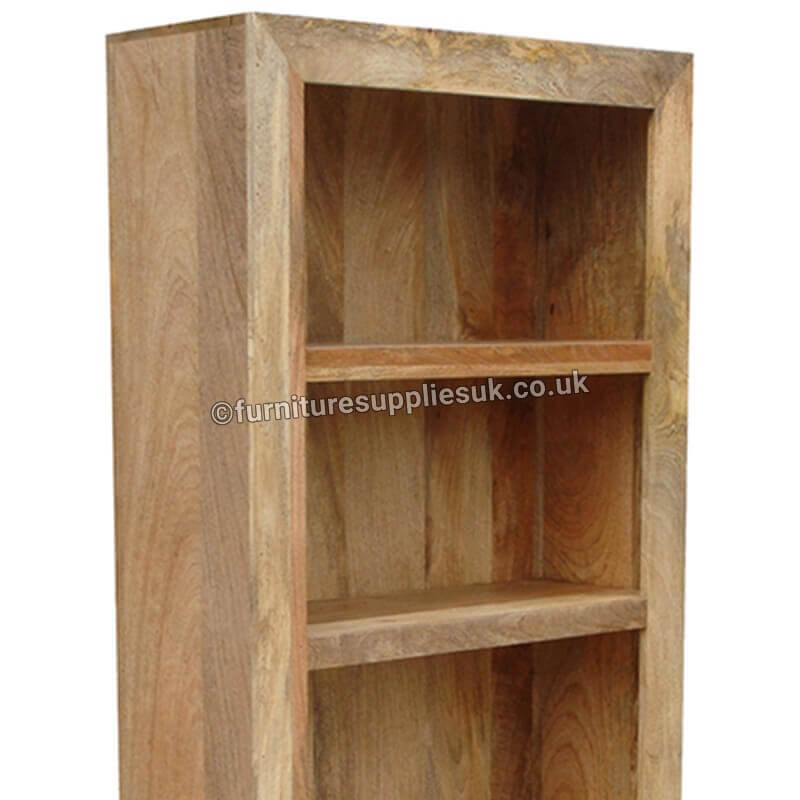 Light Dakota Large Bookcase | Solid Wood |