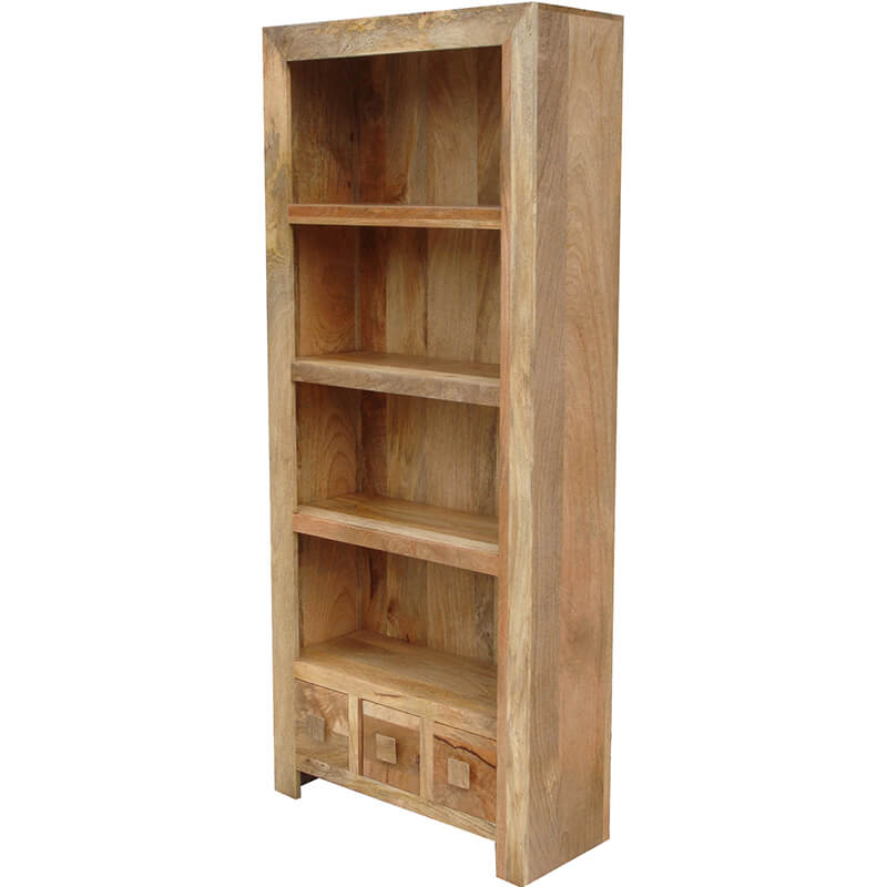 Light Dakota Large Bookcase | Furniture Supplies UK