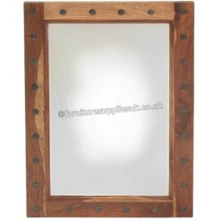 Light Jali Mirror Frame | Furniture Supplies UK