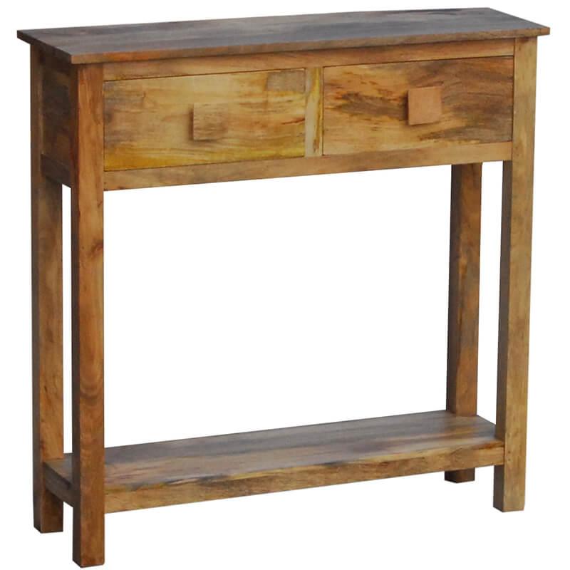 Mango Light Dakota Mini Console Table (80cm)   Furniture Supplies UK
