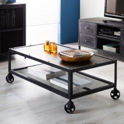 Metalica Iron Coffee Table | Furniture Supplies UK