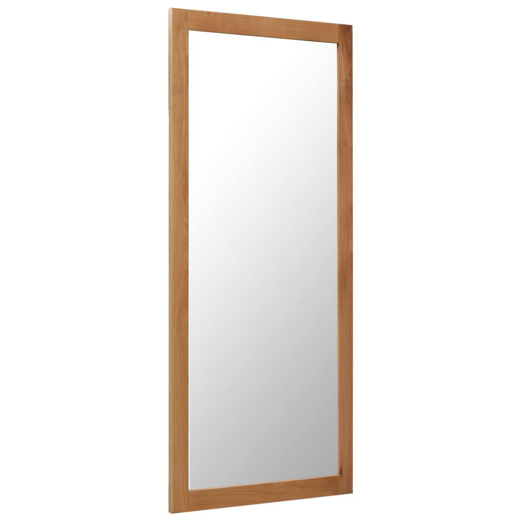 Mirror 50x140 cm Solid Oak Wood | Furniture Supplies UK