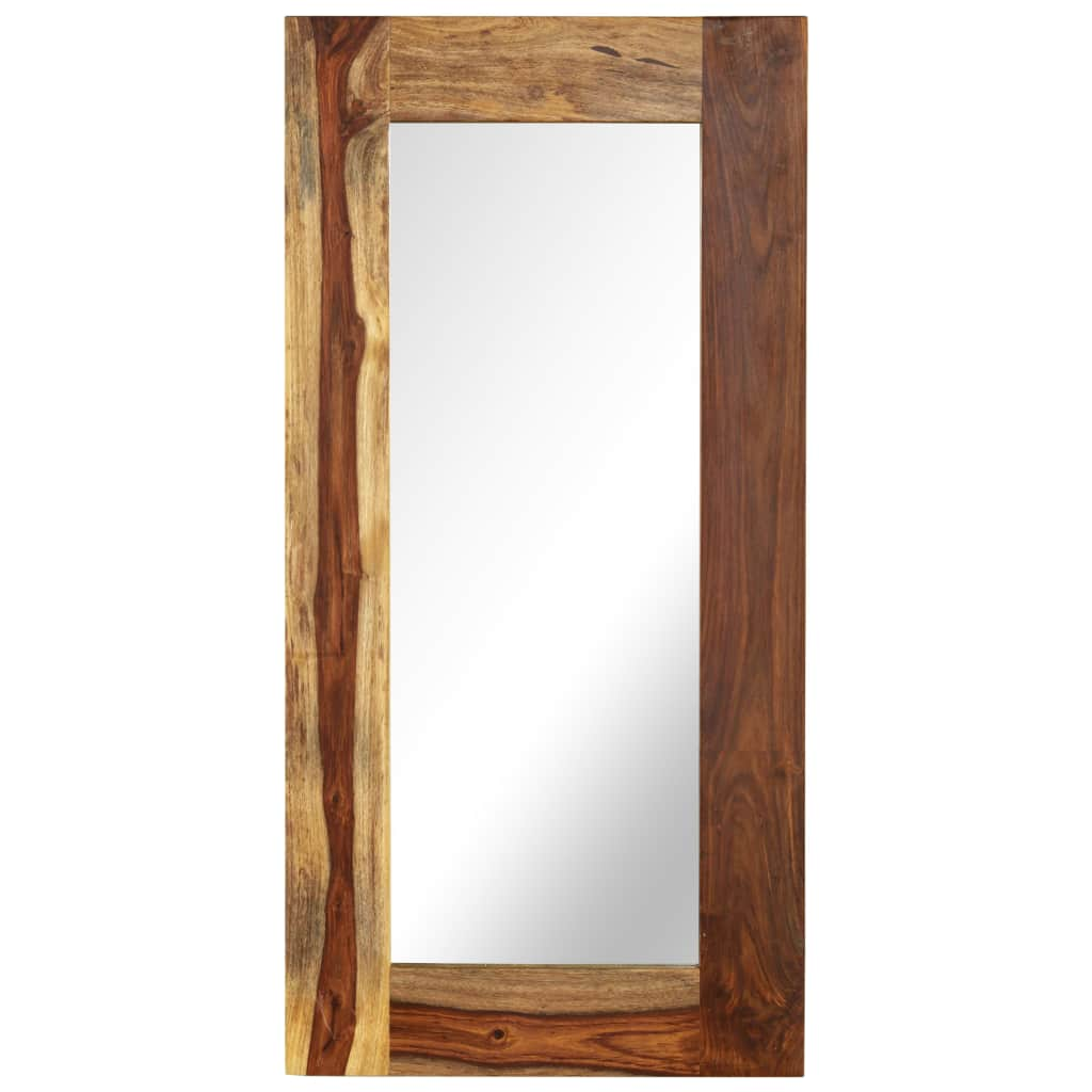 Mirror Solid Sheesham Wood 50x110 cm |  | Brown