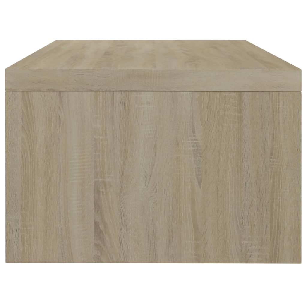 Monitor Stand Sonoma Oak 42x24x13 cm Chipboard