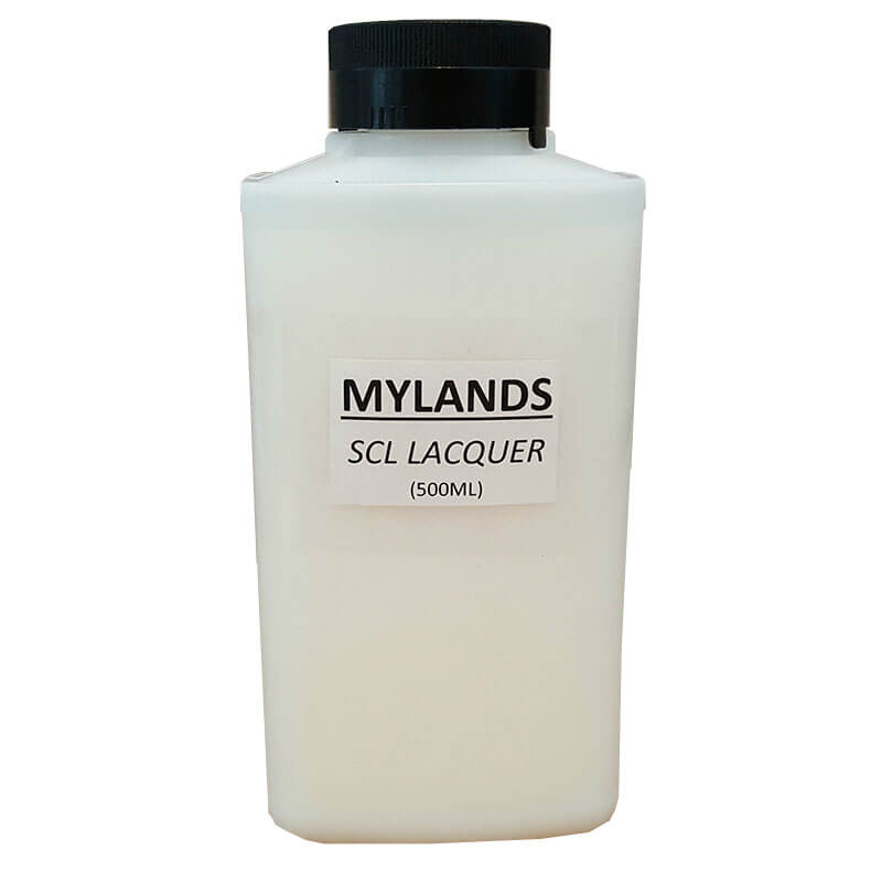 Mylands HS SCL Water Based Lacquer 500ml | Furniture Supplies UK