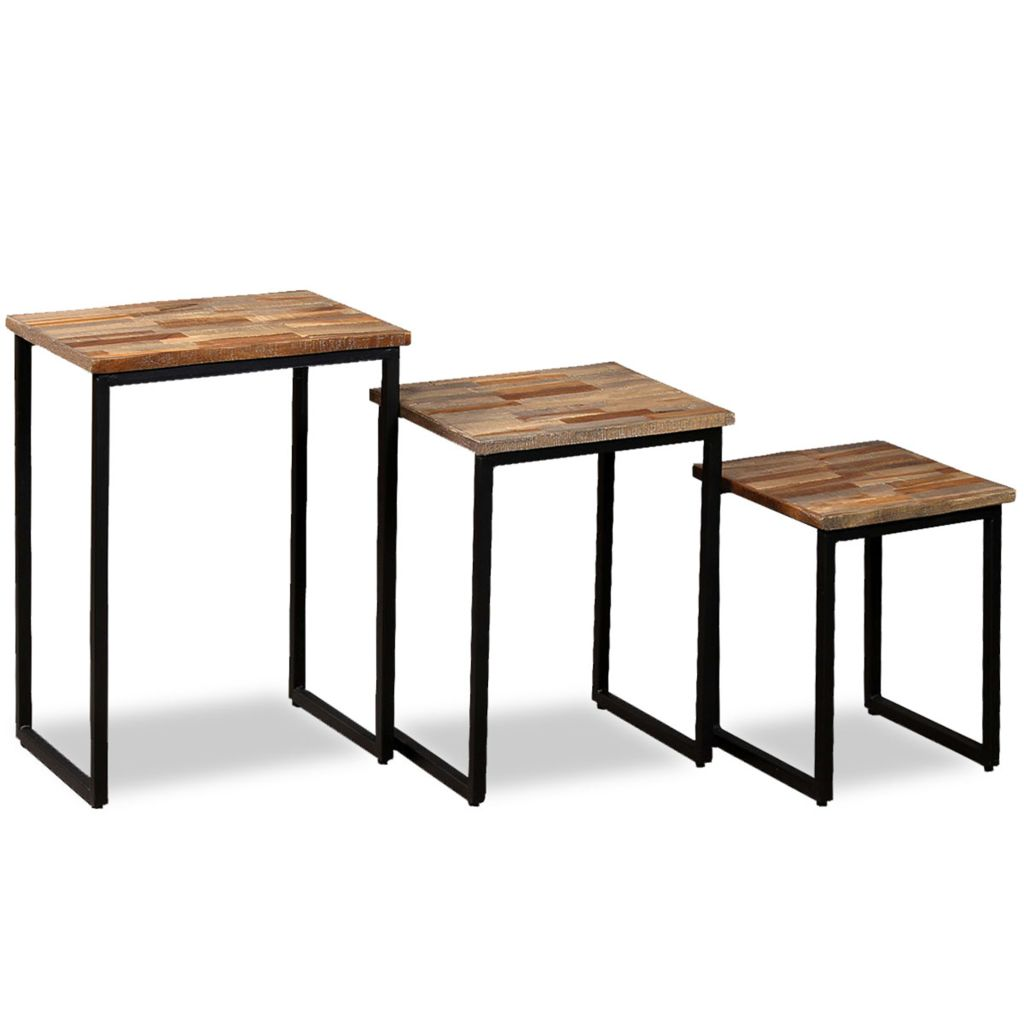 Reclaimed Wood | Coffee Table|Nest Of Tables | 245407