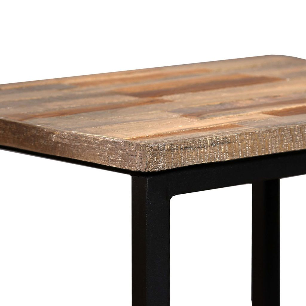 Nesting Coffee Table Set 3 Pieces Solid Reclaimed Teak