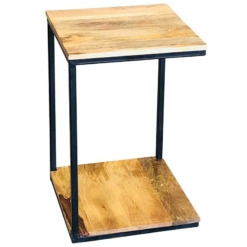 Ravi Industrial Mini Side Table | Furniture Supplies UK