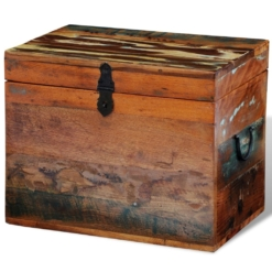 Reclaimed Storage Box Solid Wood | Furniture Supplies UK