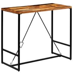 Reclaimed Wood Bar Tables