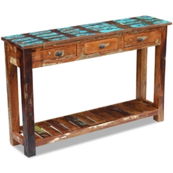 Reclaimed Wood Console Tables