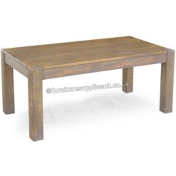Rustic Farm Large Mango Dining Table | Furniture Supplies UK