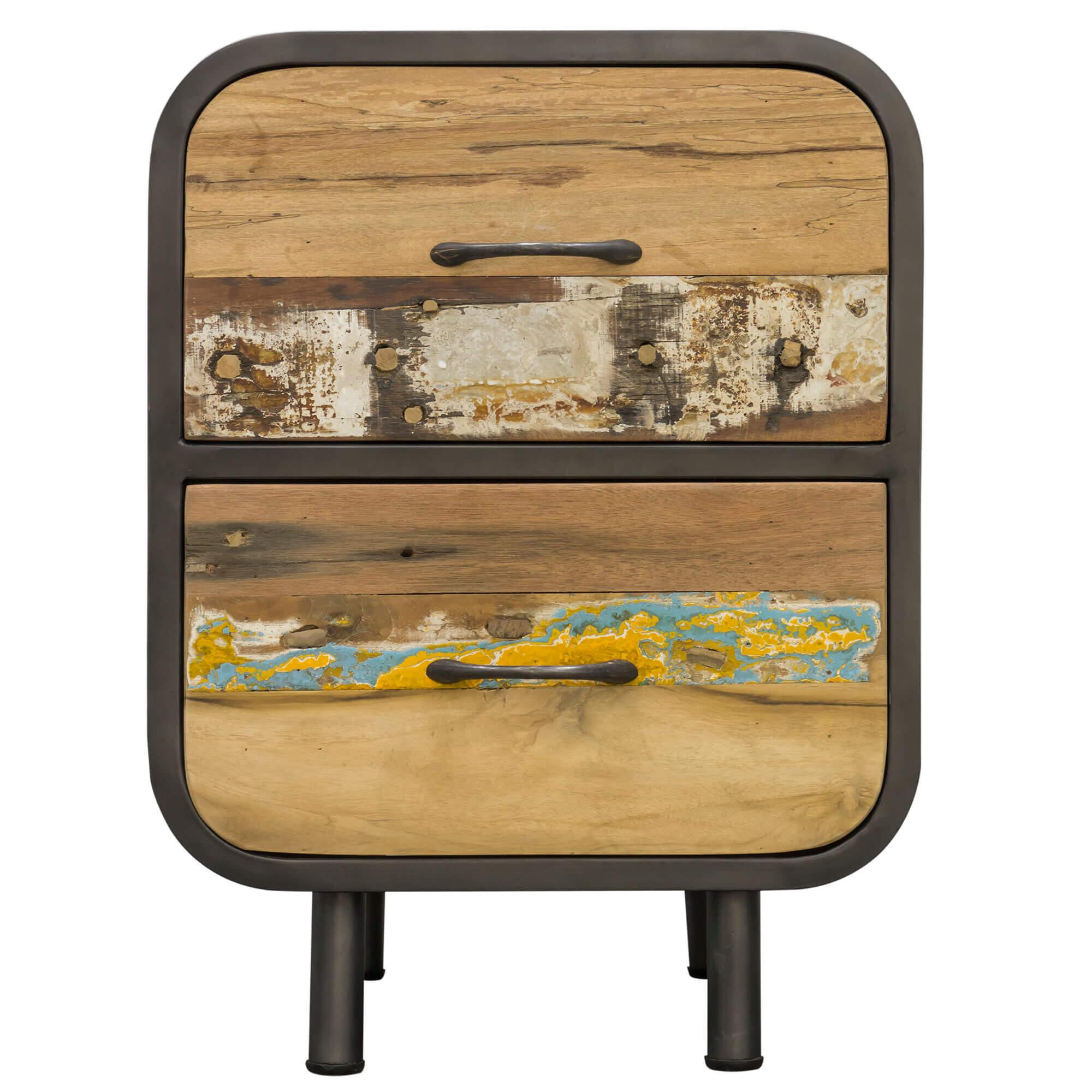 Seaside Retro 2 Drawer Bedside / Side Table |  |