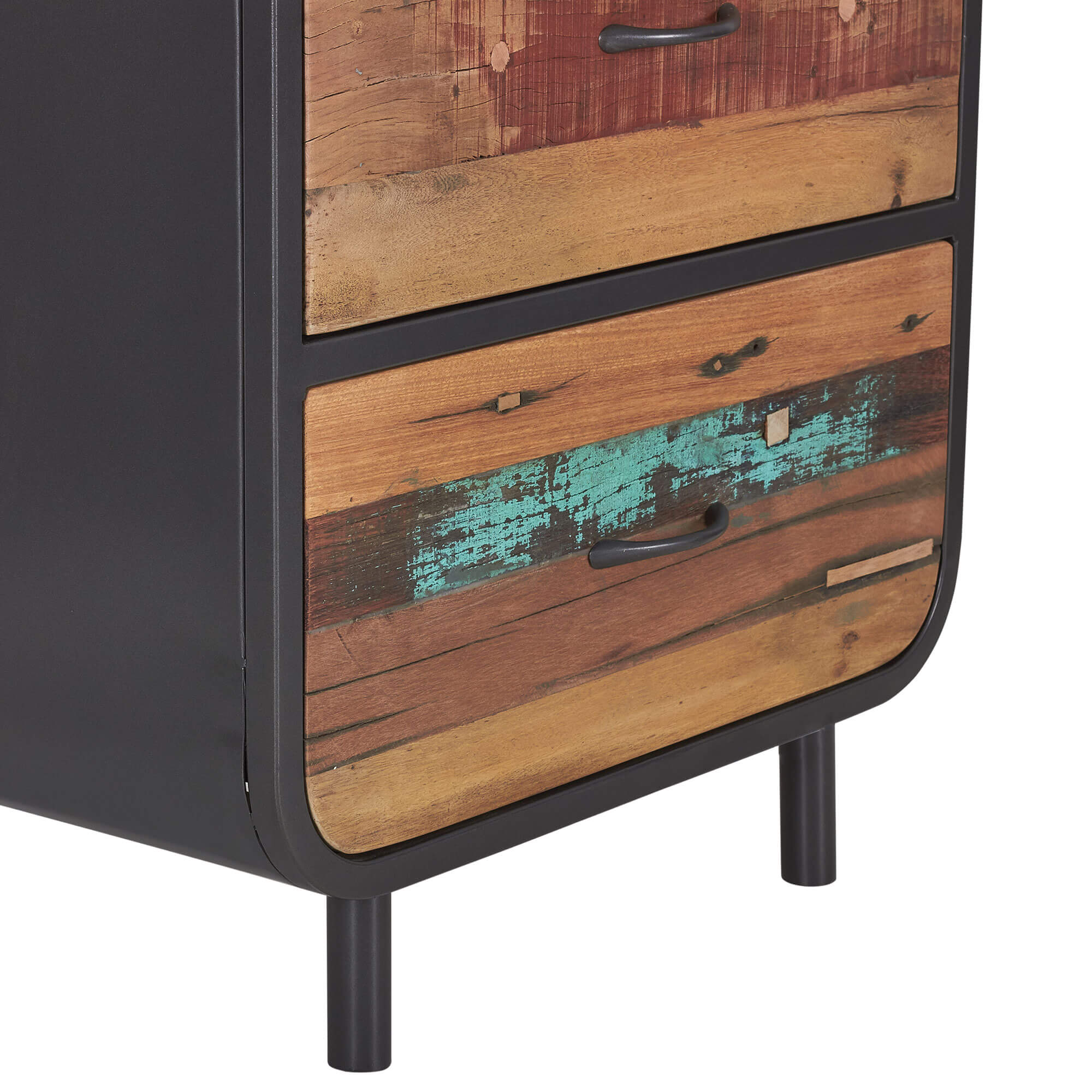 Seaside Retro High Dresser 3 Drawer