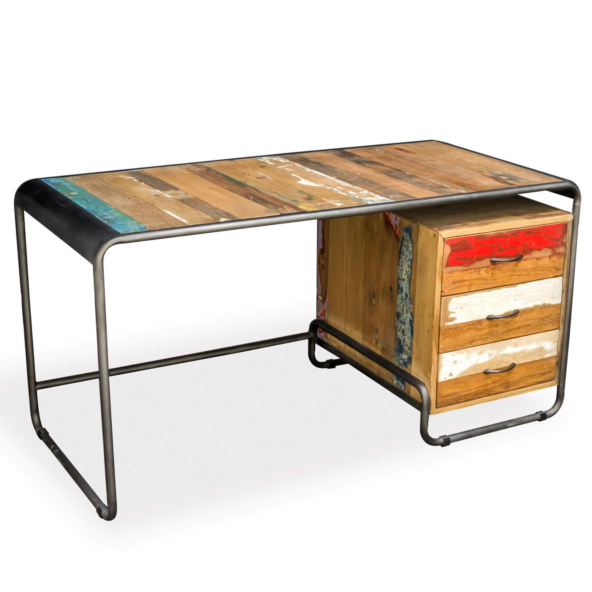 Mango Wood|Reclaimed Wood | Desk | FSUK-BBTIC32