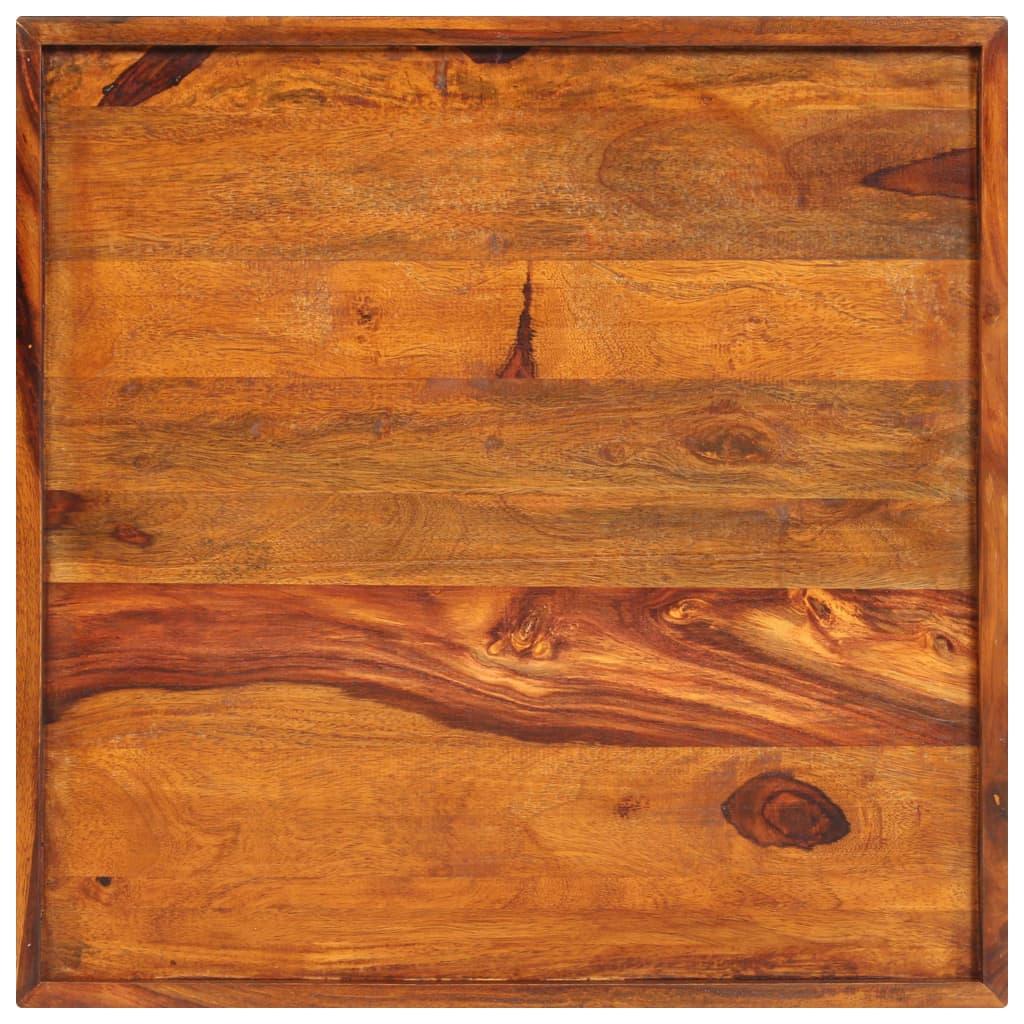 Serving Tray Solid Sheesham Wood 50x50 cm      Brown