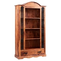 Sheesham Jali Large Bookcase | Furniture Supplies UK