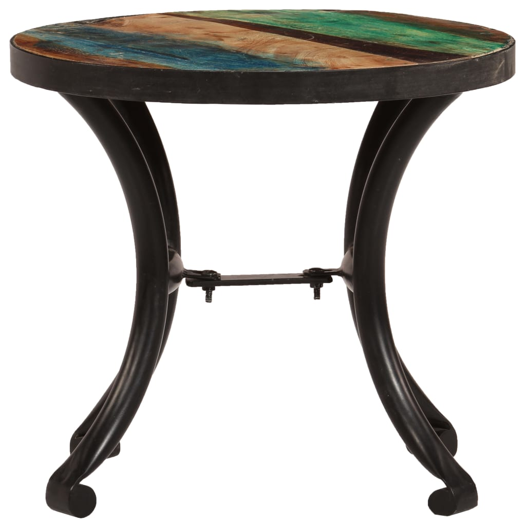 Side Table Solid Reclaimed Wood 40x35 cm |  | Brown