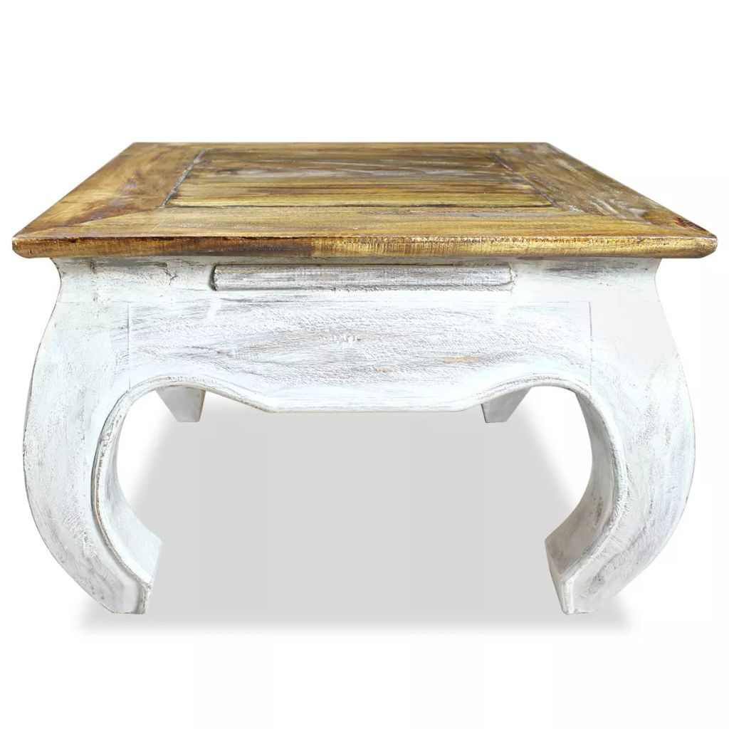 Side Table Solid Reclaimed Wood 50x50x35 cm |  | Brown