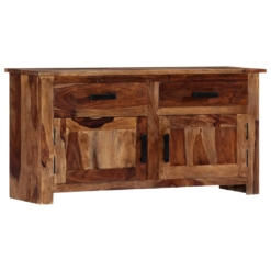 Sideboard 100x30x50 cm Solid Sheesham Wood | Furniture Supplies UK