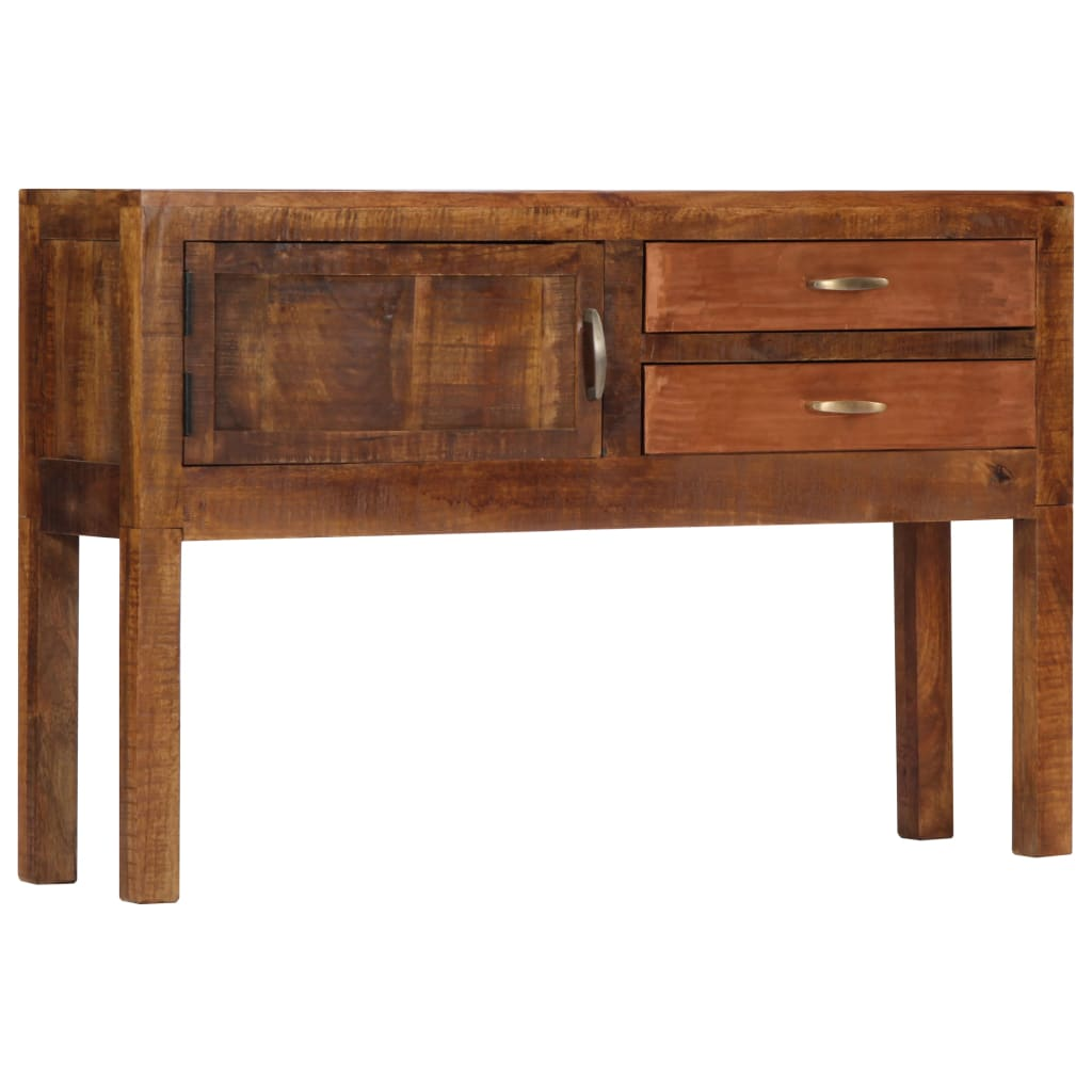 Sideboard 118x30x75 cm Solid Mango Wood | Furniture Supplies UK