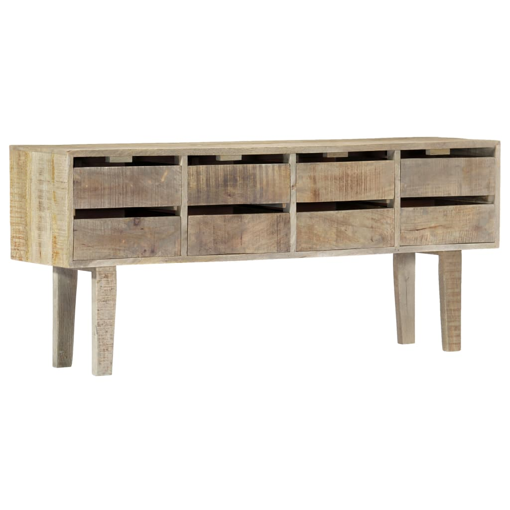 Sideboard 140x30x60 cm Solid Mango Wood | Furniture Supplies UK