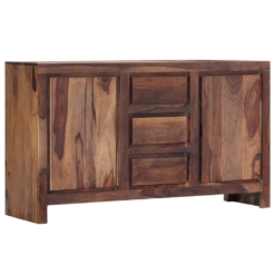 Sideboard 140x40x80 cm Solid Sheesham Wood | Furniture Supplies UK