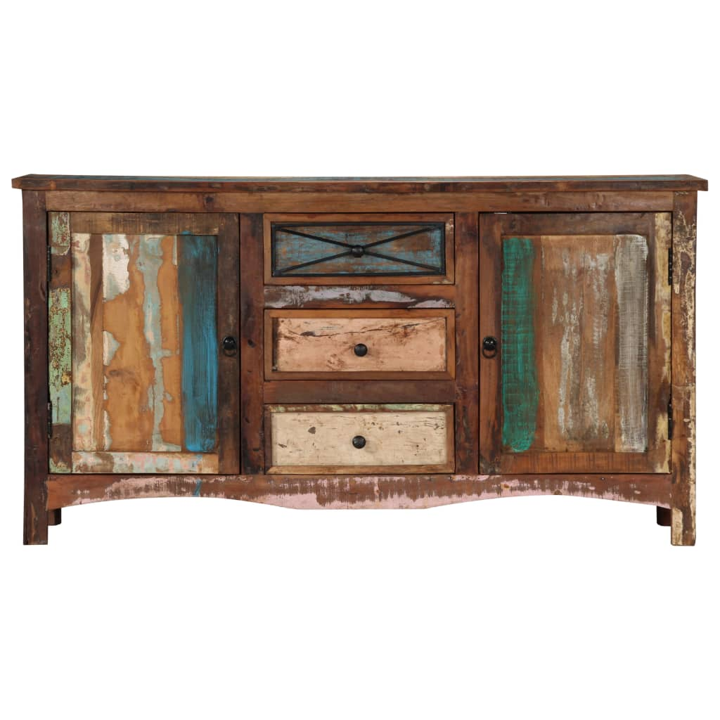 Sideboard 150x40x80 cm Solid Reclaimed Wood
