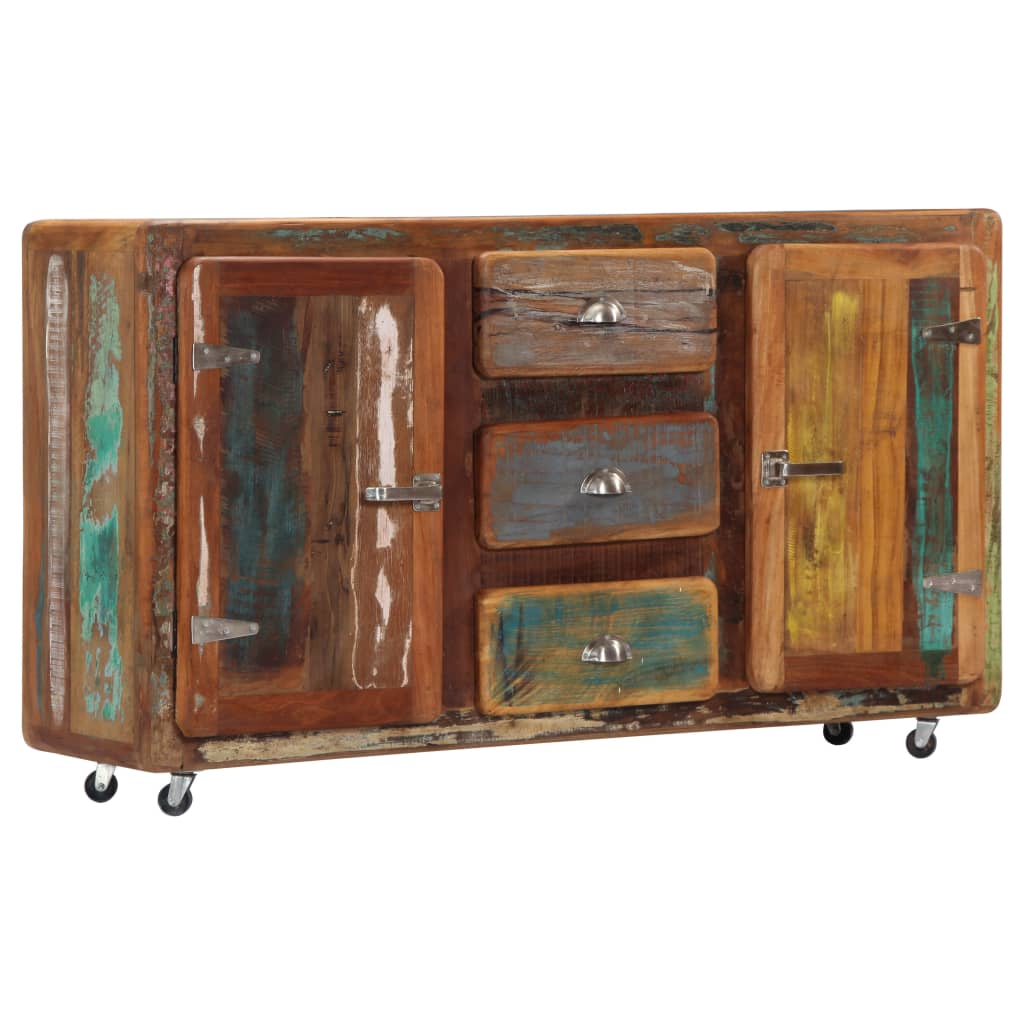 Sideboard 150x43x86 cm Solid Reclaimed Wood | Furniture Supplies UK
