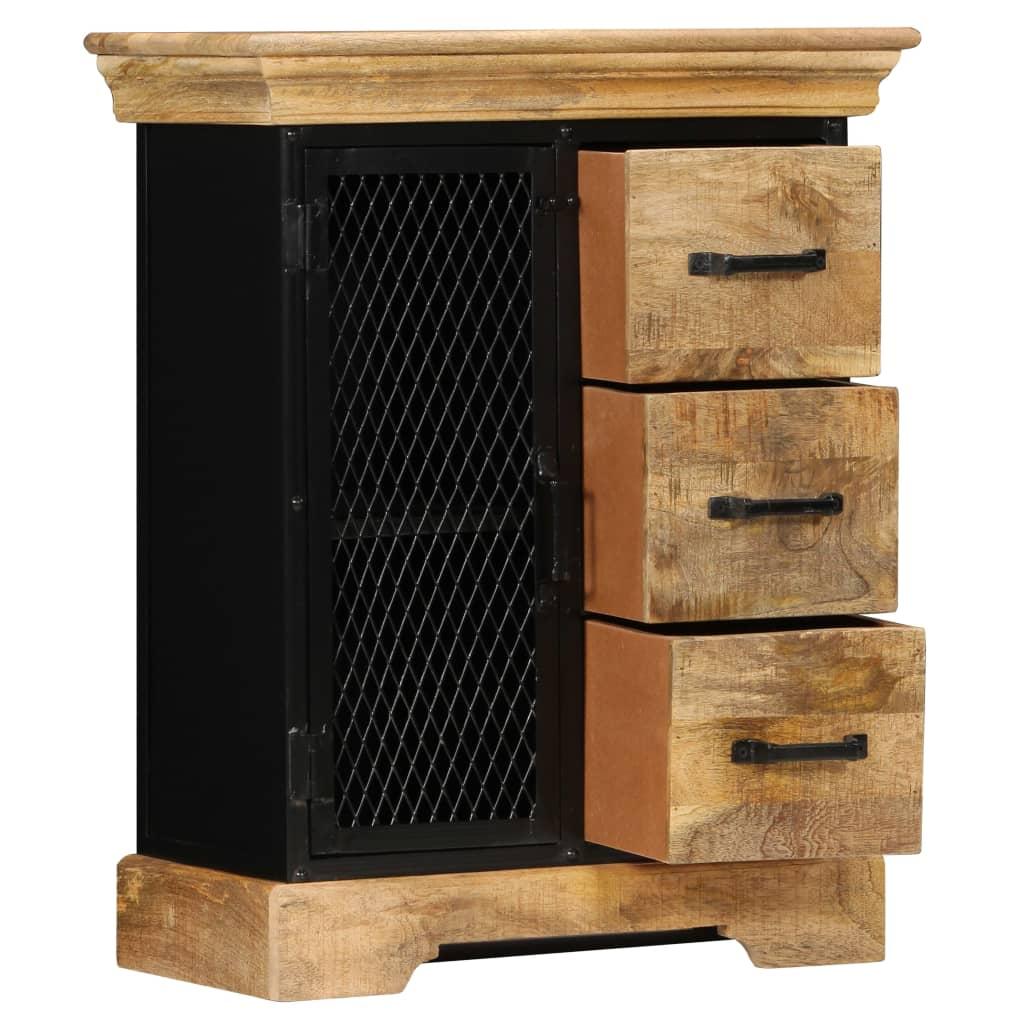 Sideboard 60x30x75 cm Solid Mango Wood