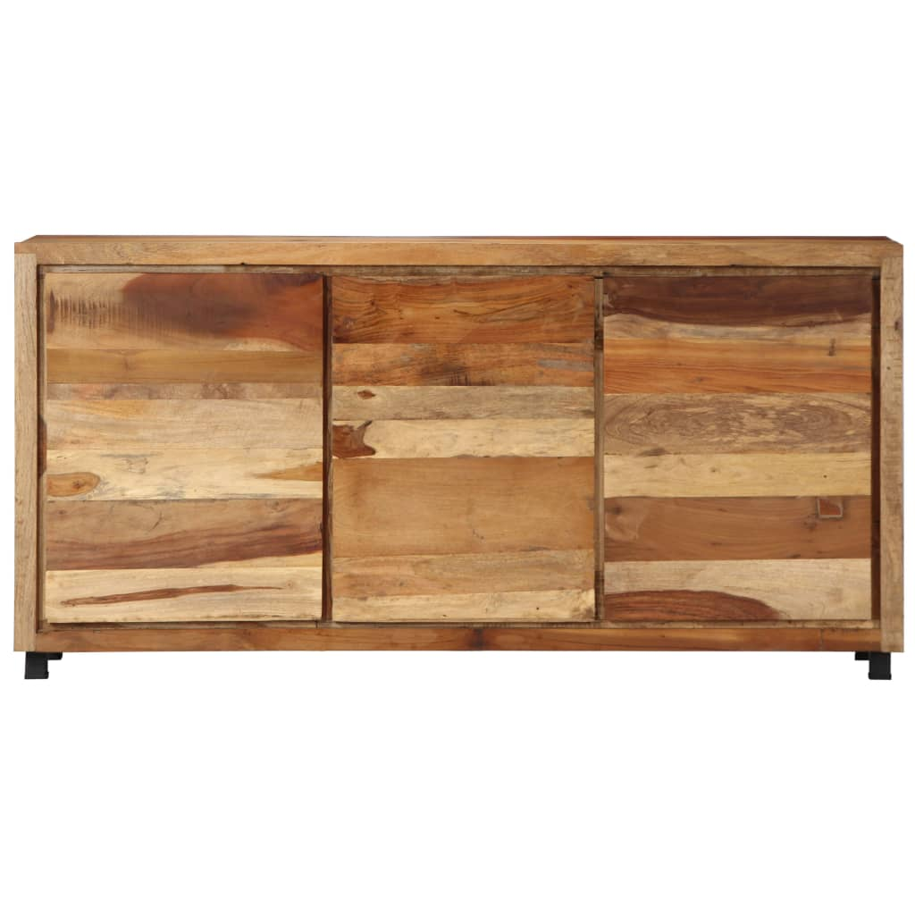 Sideboard Cabinet 160x38x79 cm Solid Reclaimed Wood      Brown
