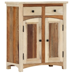 Sideboard Cabinet 60x30x75 cm Solid Reclaimed Wood | Furniture Supplies UK
