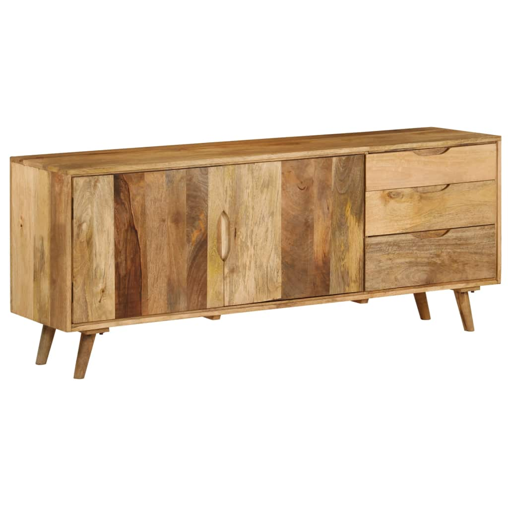 Sideboard Solid Mango Wood 170x40x70 cm | Furniture Supplies UK