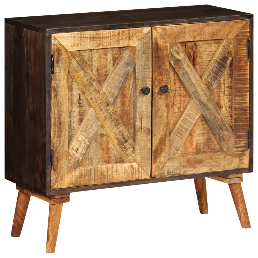 Sideboard Solid Mango Wood 85x30x75 cm | Furniture Supplies UK
