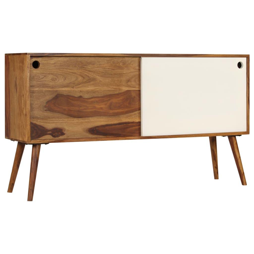 Sideboard Solid Sheesham Wood 118x30x66 cm | Furniture Supplies UK