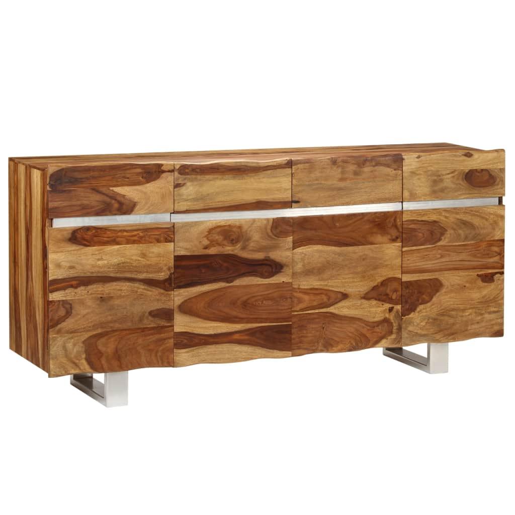 Sideboard Solid Sheesham Wood 170x40x80 cm   Furniture Supplies UK