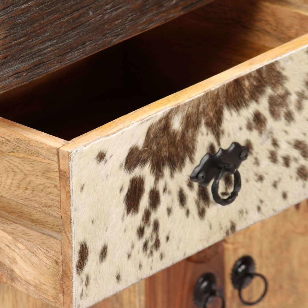 Sideboard Solid Sheesham Wood 70x30x80 cm