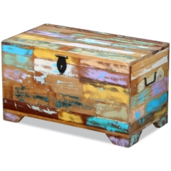 Storage Chest Solid Reclaimed Wood | Furniture Supplies UK