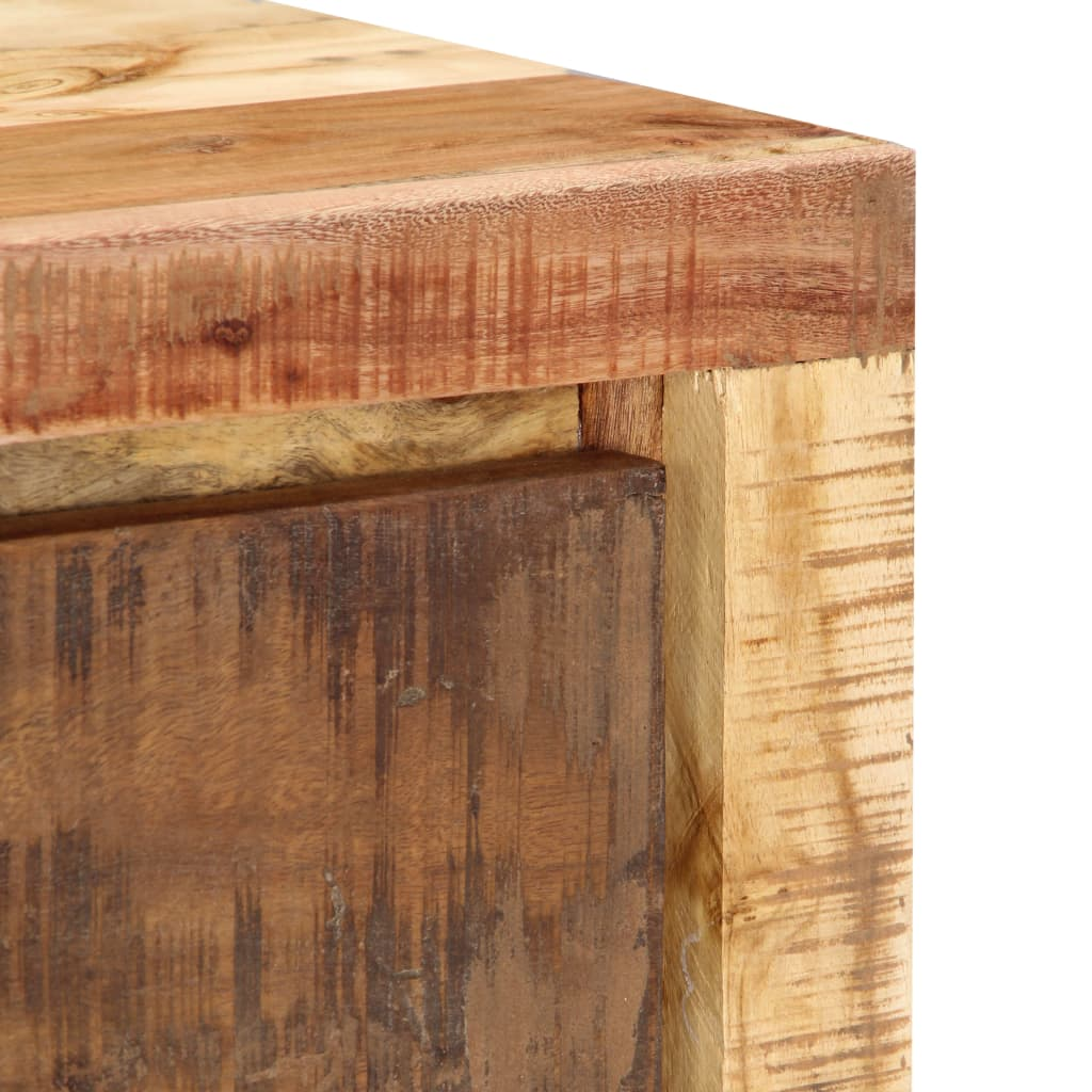 TV Cabinet 100x30x33 cm Solid Reclaimed Wood
