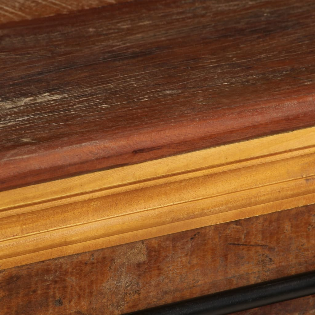 TV Cabinet 110x30x45 cm Solid Reclaimed Wood |  | Multicolour