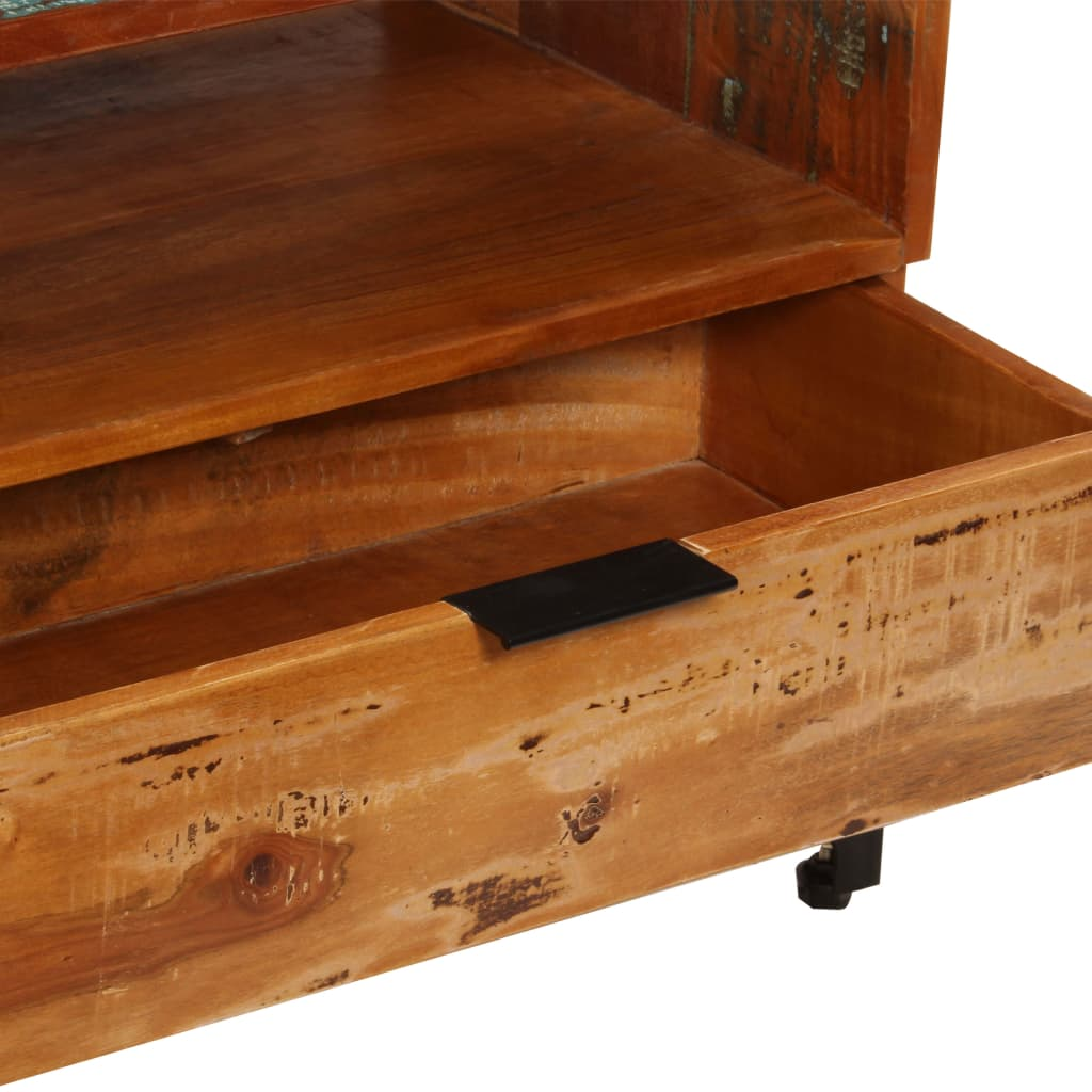 TV Cabinet 118x35x45 cm Solid Reclaimed Wood