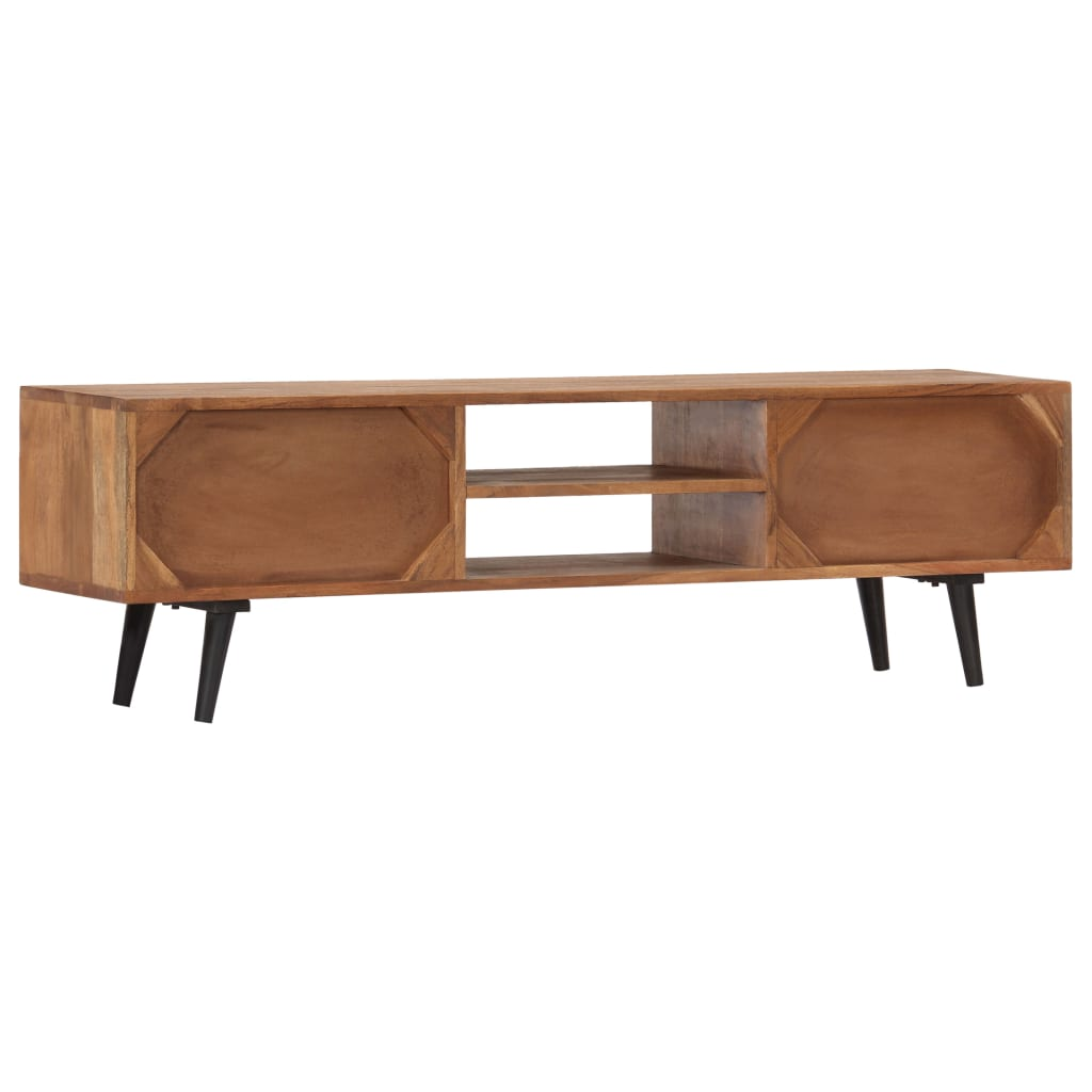 TV Cabinet 140x30x40 cm Solid Acacia Wood
