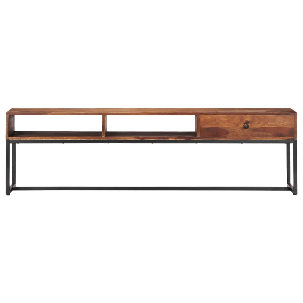 TV Cabinet 160x30x45 cm Solid Sheesham Wood |  | Brown