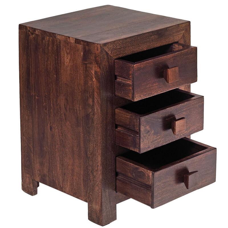 Mango Wood   Bedside Table   MB14