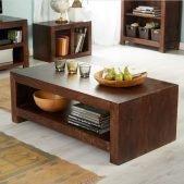 Toko Dakota Dark Mango Large Coffee Table   Solid Wood  
