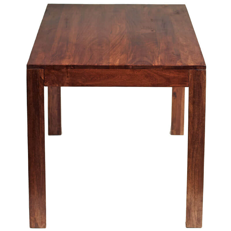 Toko Dakota Dark Mango Large Dining Table 6Ft (180Cm) | Solid Wood |