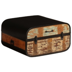 Trunk Storage Chest Solid Reclaimed Wood 60x60x35 cm | Furniture Supplies UK