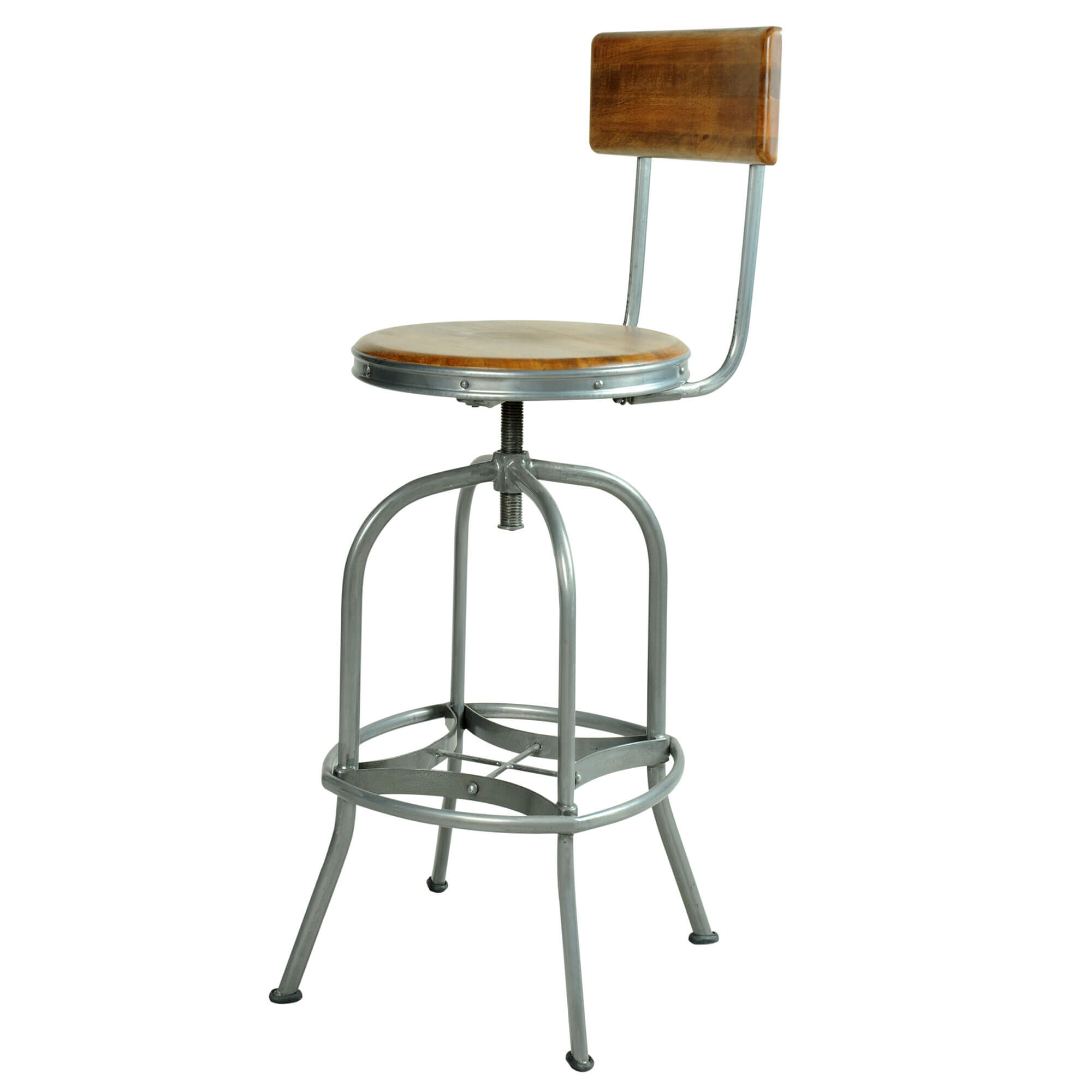 Urban Bar Stool with Back Rest | Furniture Supplies UK