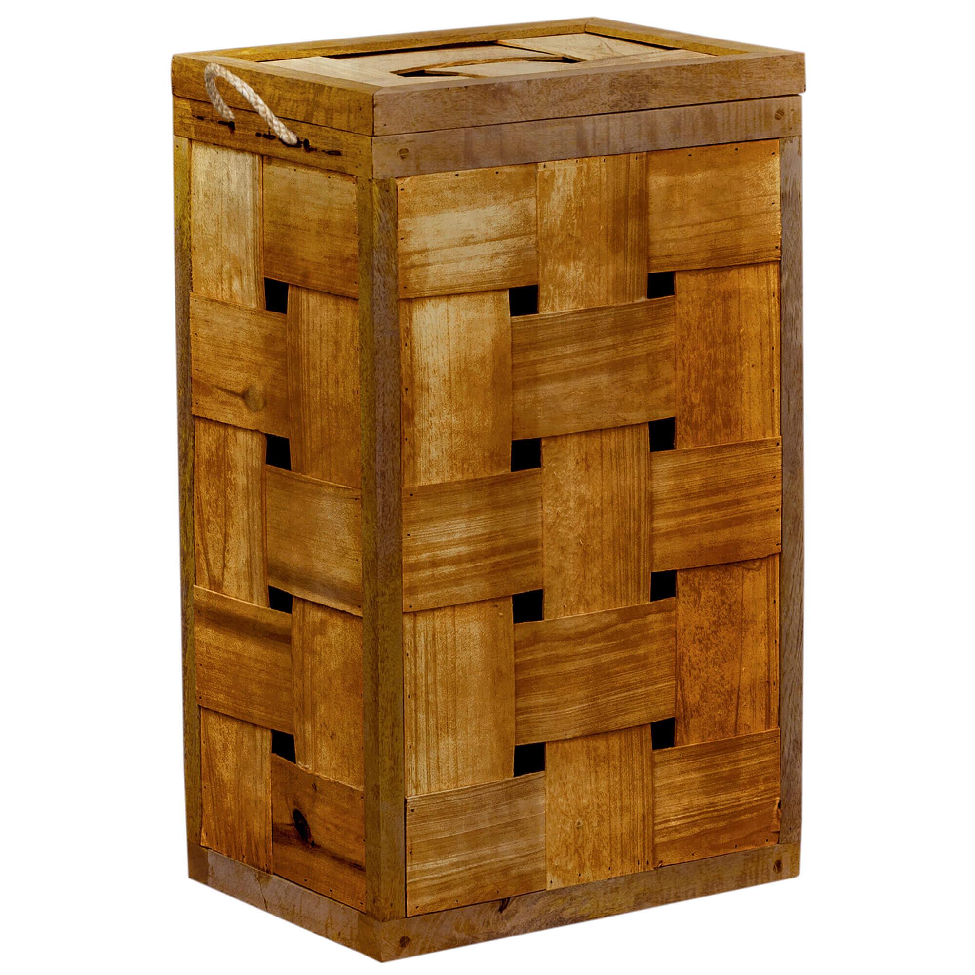 Mango Wood | Laundry Basket | FSUK-BBENG123