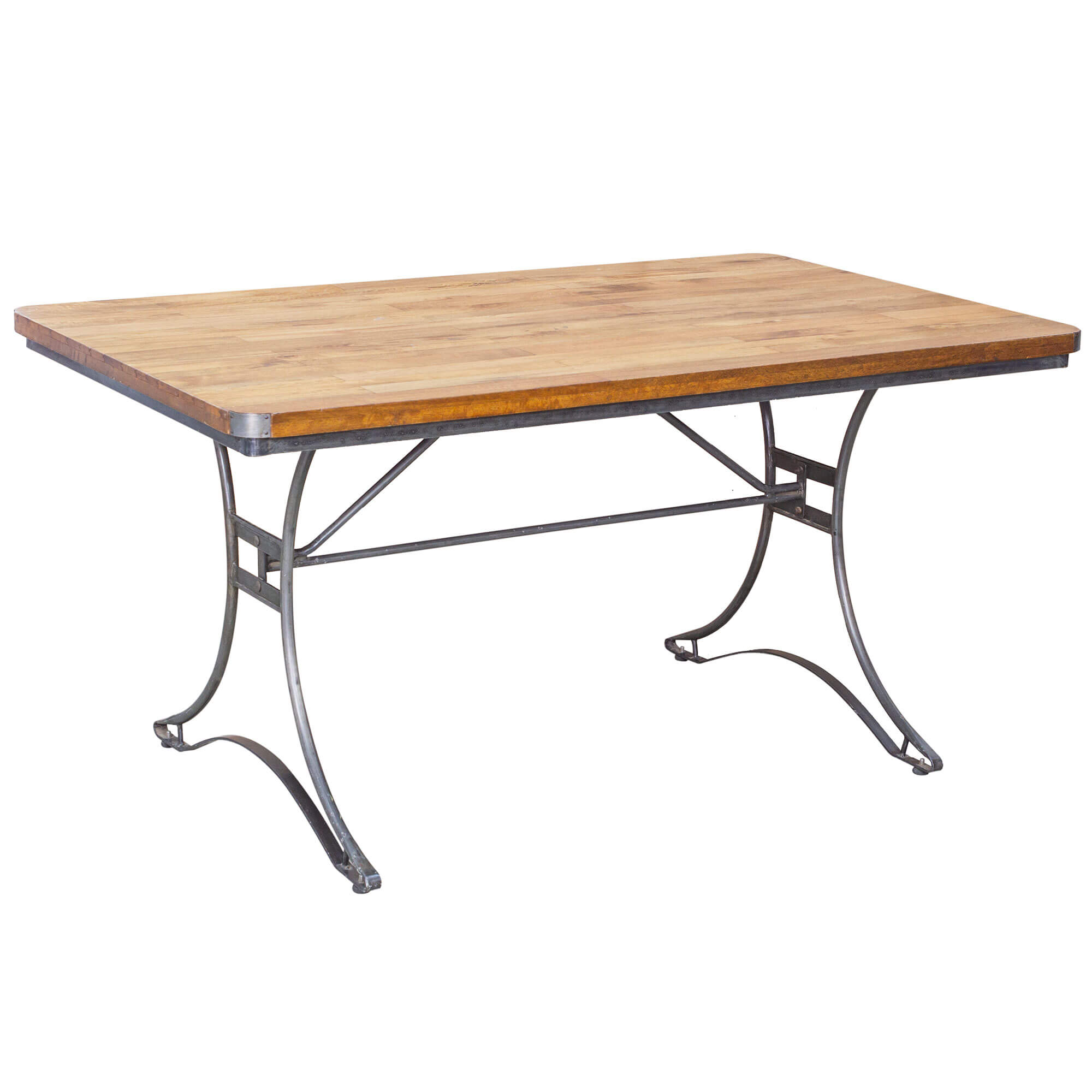 Urban Rectangular Dining Table x6 Chairs | Solid Wood |